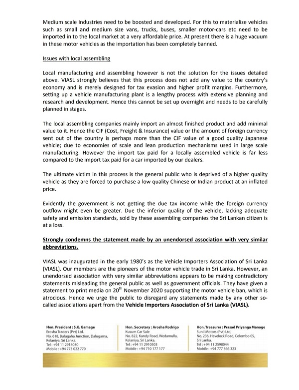 viasl press release